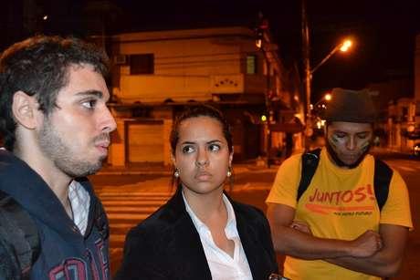 Altair e Renata participam do movimento
