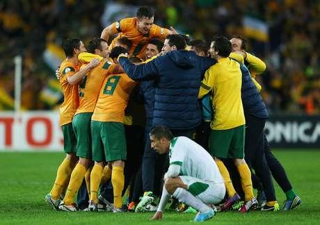 <p>Australianos conquistaram uma das cinco vagas garantidas até agora para a Copa do Mundo de 2014</p>
