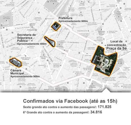 Um novo protesto está marcado para esta terça-feira, às 17h, com concentração na praça da Sé, na região central de são Paulo