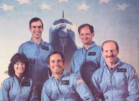 Ela viajou a bordo do ônibus espacial Challenger na missão STS-7