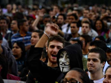 <p>O preço da passagem motivou protestos em capitais, como São Paulo</p>