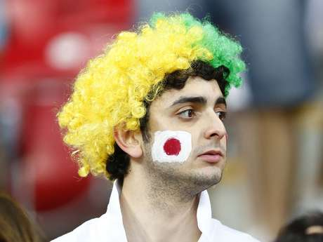 <p>Italianos y japoneses aprovecharon el partido de la Copa Confederaciones para mostrar su cara más divertida en la Arena Pernambuco.</p>