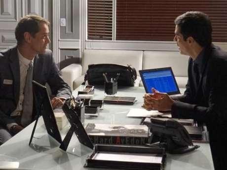 <p>Eron (Marcello Antony) planeja constituir uma família com Nikko (Thiago Fragoso) na novela 'Amor à Vida'</p>