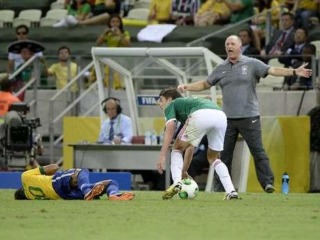 <p>Felip&atilde;o relatou emo&ccedil;&atilde;o do &aacute;rbitro e amigo Howard Webb</p>