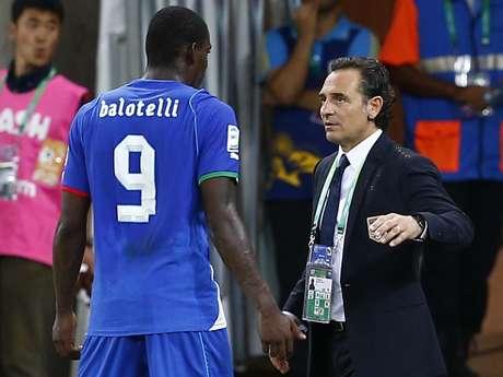 """<p>Prandelli disse que Itália ficou """"sem combustível"""" durante o jogo</p>"""