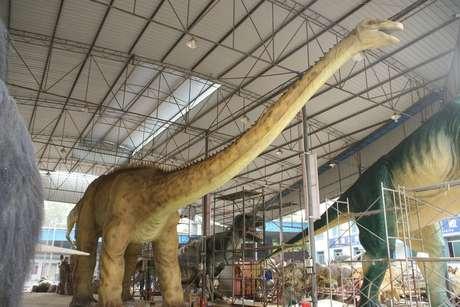 La muestra más grande de dinosaurios promete cautivas a adultos y niños en las vacaciones de invierno