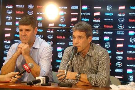 <p>Carpegiani cobrou reforços da diretoria pontepretana</p>