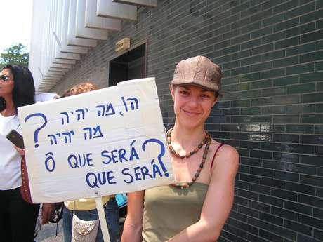 <p>Convoca&ccedil;&atilde;o para o protesto em Israel foi feito por meio das redes sociais</p>