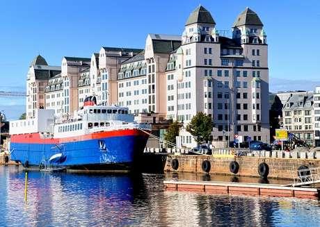 Oslo, capital e maior cidade da Noruega