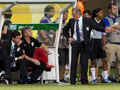 <p>Tabárez deu sua opinião sobre os motivos das vaias ao Uruguai</p>