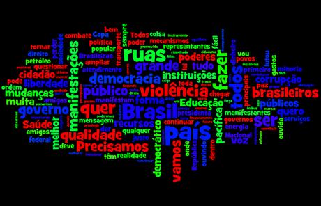 Confira as palavras mais ditas pela presidente Dilma durante o discurso