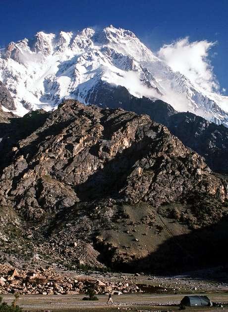 <p>La montaña Nanga Parbat donde se ha producido el atentado</p>