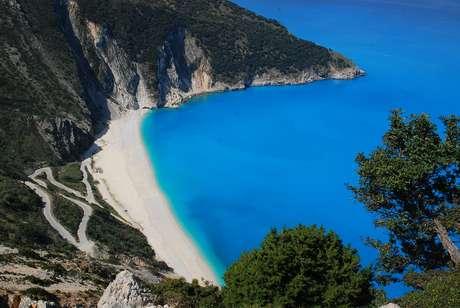 <p>A Grécia é conhecida por suas ilhas de praias paradisíacas</p>