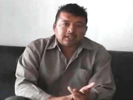 La administración estatal de Sinaloa aseguró que el escolta Frank Armenta Espinoza fue sometido y obligado para hablar ante una cámara.