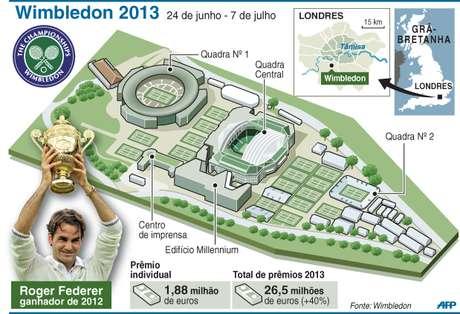 Infográfico de Wimbledon (2013)