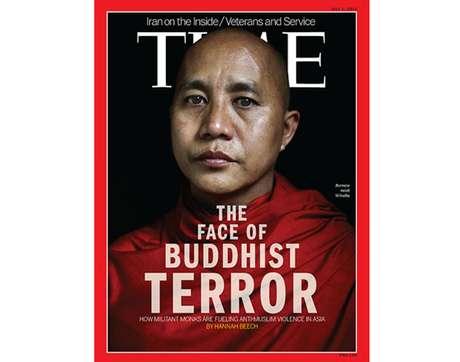 Segundo a Time, Wirathu é o líder de um movimento radical de monges budistas birmaneses que afirmam que a minoria muçulmana do país ameaça a pureza racial e a segurança nacional