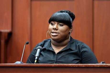 <p>Rachel Jeantel hablaba por teléfono con Trayvon momentos antes de que el adolescente fuera asesinado por Zimmerman.</p>
