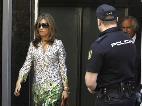 <p>Rosalia Iglesias, mujer de Bárcenas</p>