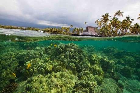 <p>Formado de mais de 100 ilhas, o arquipélago havaiano tem oito ilhas principais, sete delas habitadas:a ilha de Hawaii, mais conhecida como Big Island (foto); Maui; Oahu; Kauai; Molokai; Lanai; e Niihau</p>