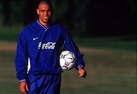 Ronaldo, durante preparação na Austrália: cortado pela Fifa, frustrou organizadores e Nike