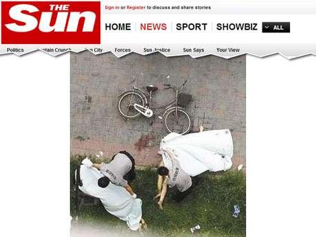 Casal foi encontrado morto depois que a janela se quebrou e eles despencaram