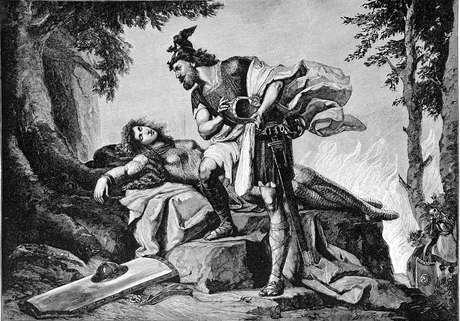 Siegfried desperta Brunilde