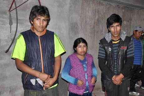 Tio e pais do menino boliviano Bryan, 5 anos, morto durante tentativa de assalto na zona leste de São Paulo