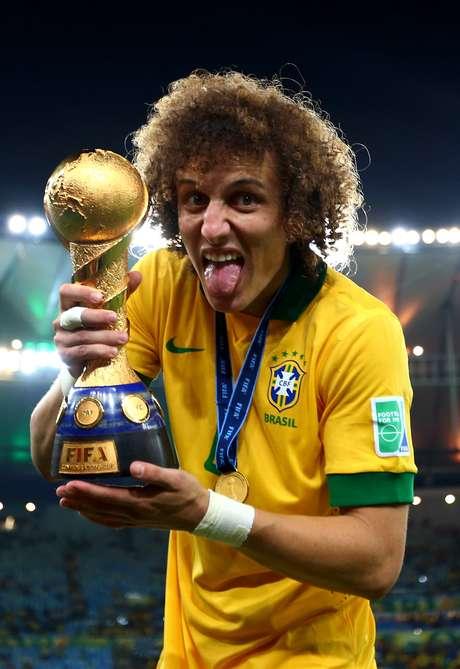<p>David Luiz foi titular da Sele&ccedil;&atilde;o no t&iacute;tulo da Copa das Confedera&ccedil;&otilde;es</p>