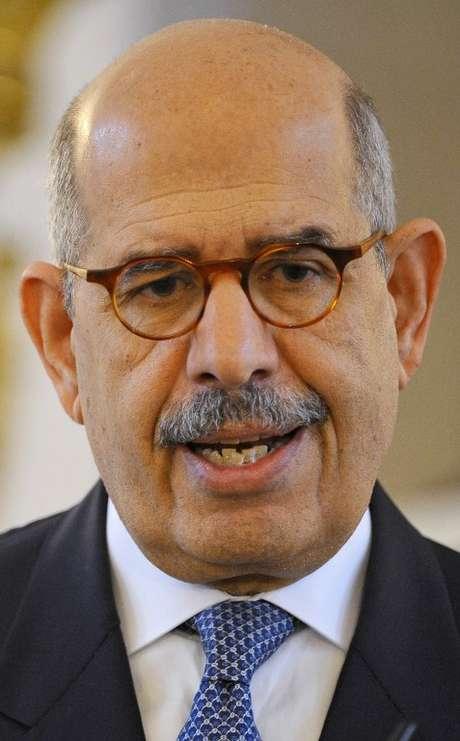 O egípcio Mohamed ElBaradei