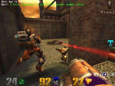 Em 'Quake 3 Arena' inteligência artificial aprendia táticas do jogador adversário para tornar experiência cada vez mais difícil