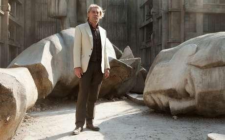 <p>Javier Bardem como el villano Raoul Silva en una escena de <em>Skyfall</em>, en Gunkanjima</p>