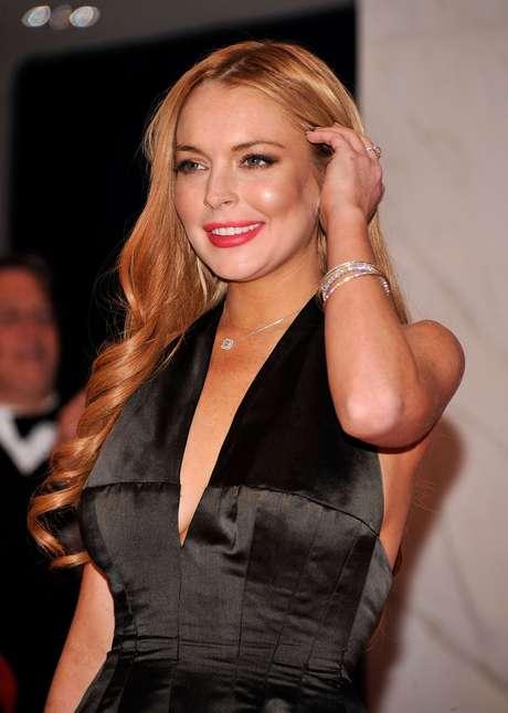 <p>Lindsay Lohan deixou uma clínica de reabilitação na semana passada</p>