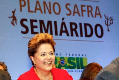 Presidente durante cerimônia de lançamento do Plano Safra Semiárido 2013/2014 nesta quinta-feira