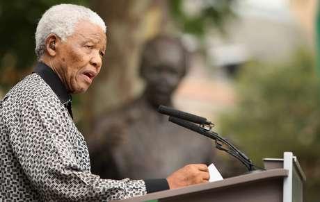 <p>Nelson Mandela: unanimidade em sua luta contra a opressão e a desigualdade</p>