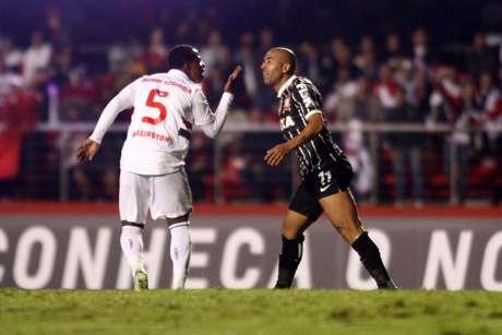<p>Corinthians tem vantagem no placar por vitória por 2 a 1 no jogo de ida</p>