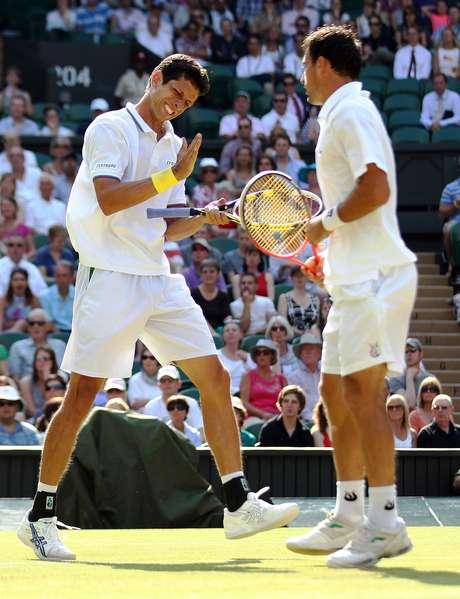 <p>Marcelo Melo sofreu a segunda derrota em finais de Grand Slam</p>