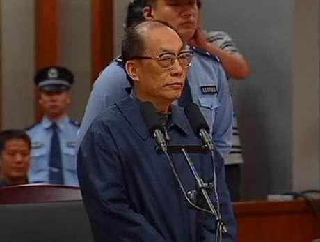 Liu foi considerado culpado de suborno e de abuso de poder