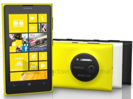 Lumia 1020 teria três opções de cores e câmera de 41 megapixels