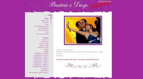 Sites para organizar casamento e lista de presentes se popularizam no Brasil
