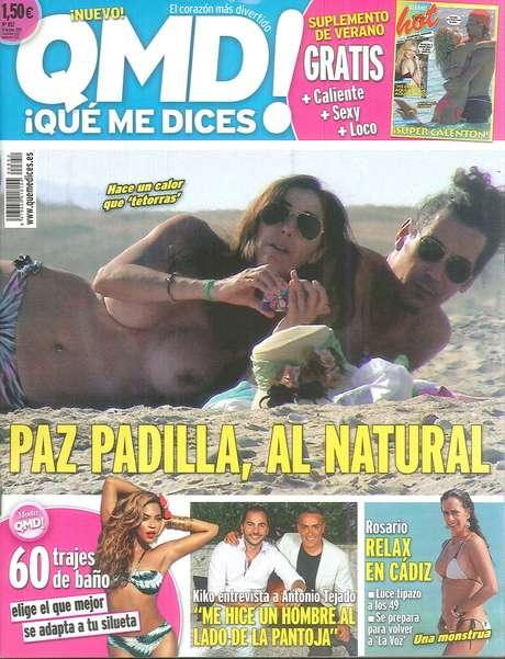 <p>Paz Padilla y Antonio</p>