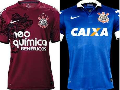 O uso do terceiro uniforme de forma não ortodoxa tem permitido ao Corinthians  fazer homenagens e 73acf2283b482