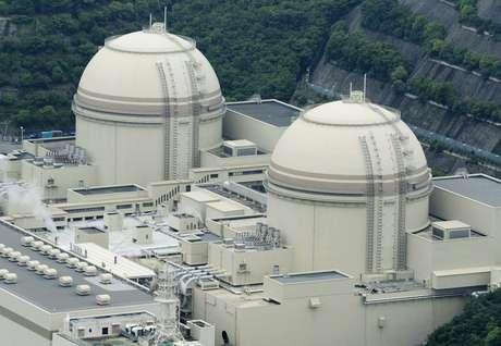 Reatores 3 e 4 da usina nuclear de Fukushima