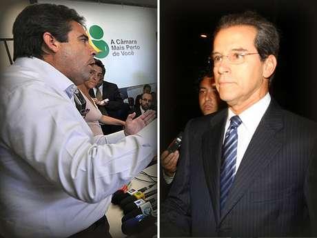 <p>Primeiro senador a ser cassado no Brasil, Luiz Estevão (PMDB-DF) perdeu o mandato após envolvimento no desvio de R$ 169 milhões da construção do Fórum Trabalhista de São Paulo</p>