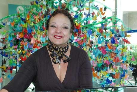 <p>A pianista Maria Inês Vasconcelos optou por cortar os fios logo que começaram a cair</p>