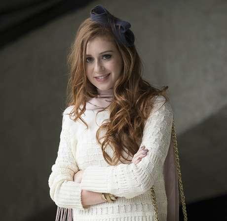 <p>Marina Ruy Barbosa vive personagem com câncer em novela. Surgiu a possibilidade de ela raspar a cabeça, que foi descartada pela TV Globo</p>