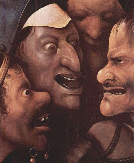 """""""Em um mercado de grãos e uma feira de cavalos, as elites criaram espetáculos tão grotescos quanto telas de Hieronymus Bosch retratando a loucura humana ou os tormentos do inferno"""", diz em artigo John Waller"""