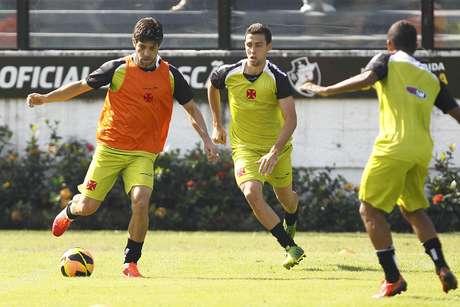 <p>Juninho confirmou volta ao Vasco e fez segundo treinamento</p>