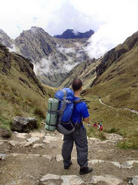<p>A trilha inca dura normalmente quatro dias e três noites</p>