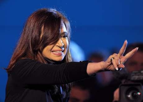 <p>Oposição diz queCristina Kirchner infringiu o Código Eleitoral ao liderar uma inauguração esta semana</p>