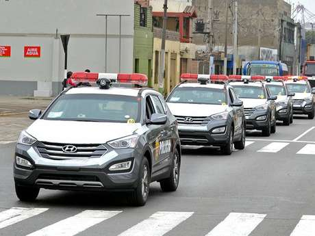 Patrulleros inteligentes comenzaron a operar esta tarde for Ministerio del interior peru